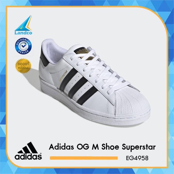 Adidas รองเท้าผ้าใบ รองเท้าแฟชั่น รองเท้าผู้ชาย รองเท้าหนังอาดิดาส OG MEN Shoe Superstar